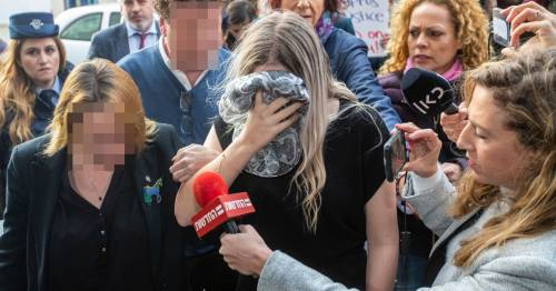 Brit student convicted of inventing Ayia Napa gang rape 'made to confess by police' - World News