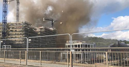 Huge explosion in Durham city centre building site as firefighters rush to scene