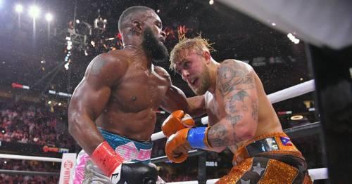 Jake Paul and Tyron Woodley returned negative drug tests after boxing fight