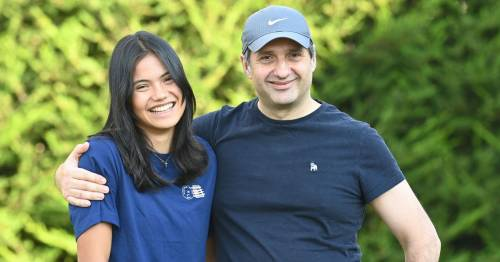 Emma Raducanu reunited with family as star tipped for £1bn fortune after US Open win