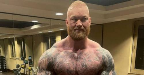 Thor Bjornsson tells rival to be ready for
