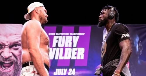 """Deontay Wilder claims Tyson Fury should """"burn in hell"""" over Covid """"lie"""""""