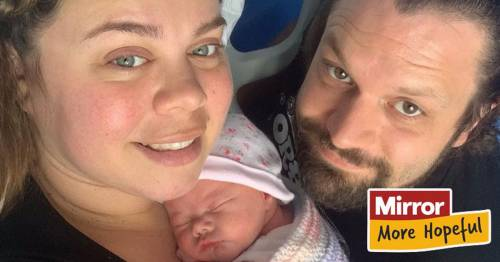 Midwife finally becomes a mum after suffering two miscarriages and ectopic pregnancy