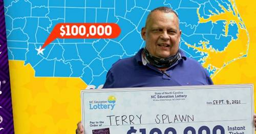 Man hails 'unbelievable' third lottery win with ticket from same store