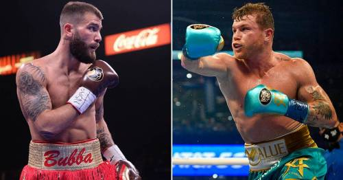 """Chris Eubank Jr expects Caleb Plant to """"run"""" from Canelo Alvarez in undisputed clash"""