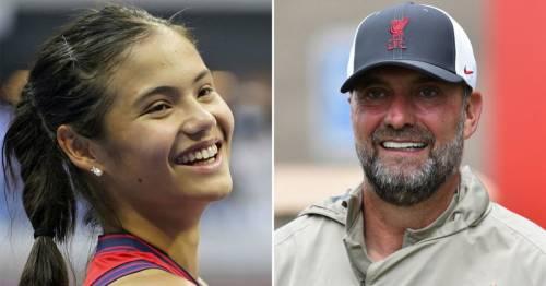 Jurgen Klopp vows to watch more women's tennis after being inspired by Emma Raducanu