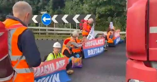 Climate protests cause rush-hour travel chaos blocking M25 for second time in a week