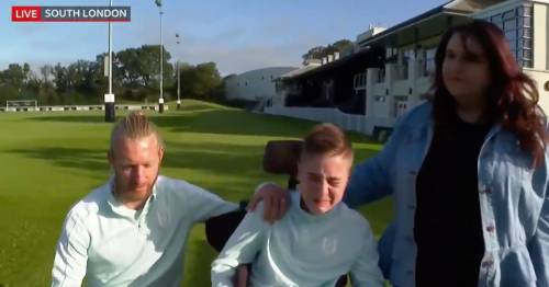Fulham star Tim Ream leaves young fan who suffered online abuse in tears in touching move