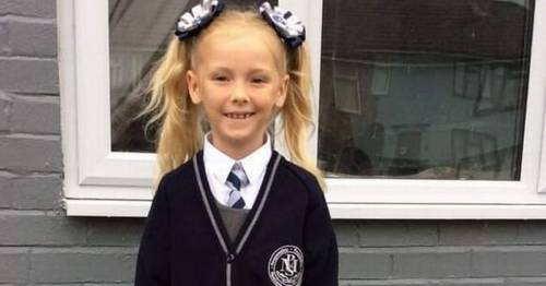 Girl, 6, in coma after fireplace falls on her with force that would 'knock out a bull'