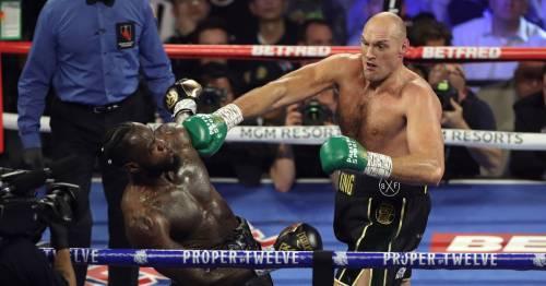 Tyson Fury responds to Anthony Joshua's prediction for Deontay Wilder trilogy