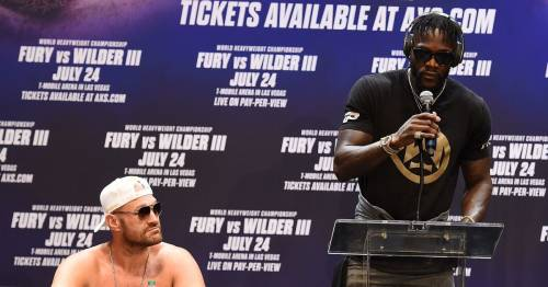 Deontay Wilder explains consequences for Tyson Fury if he pulls out of trilogy fight