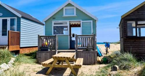 Britain's most expensive beach hut on sale for same price as six bedroom home