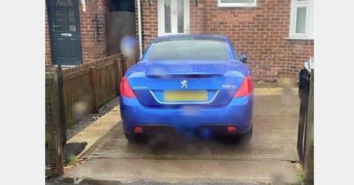 Couple 'impound' car parked on driveway and insist driver hand over £100 to get it back