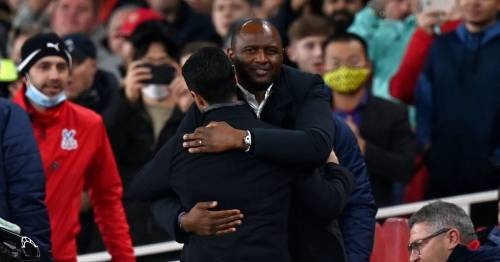 Arsenal 2-2 Crystal Palace: Patrick Vieira suffers late heartache on Gunners return - 5 talking points