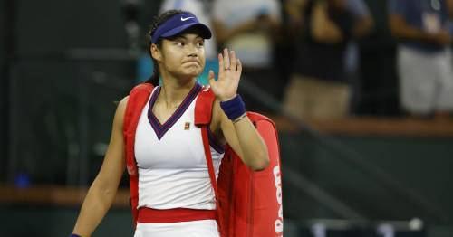 Emma Raducanu withdraws from Kremlin Cup after disappointing early Indian Wells exit