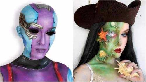 Winnipeg makeup artist creates 31 days of spooky Halloween looks