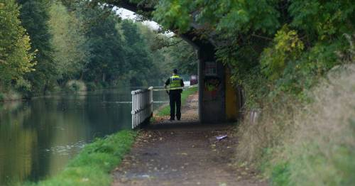 Man dies falling into canal after police called to 'body in water' near towpath