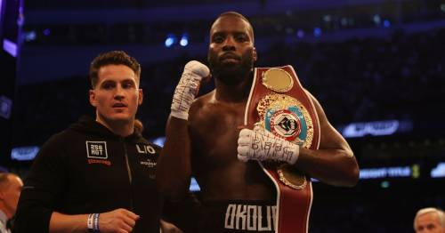 """Lawrence Okolie """"laser-focused"""" on unifying at cruiserweight before heavyweight move"""