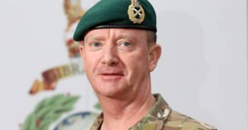 Funeral for former head of Royal Marines found dead in home takes place