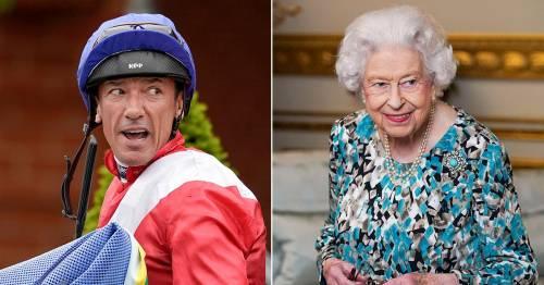 Frankie Dettori reveals embarrassing mishap involving the Queen's Persian rug