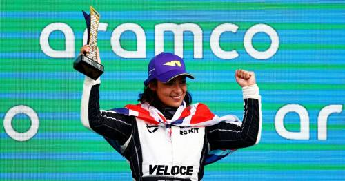 """Jamie Chadwick believes Formula 1 dream """"step closer"""" after second W Series title"""
