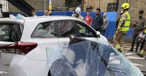 Walthamstow crash: Five injured after car smashes into barber shop in London