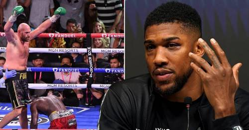 Potential Tyson Fury vs Anthony Joshua fight could cost fans £39.99 on TV
