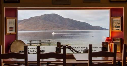 UK's remotest pub can only be reached by boat or walking 18 miles over 300ft mountains
