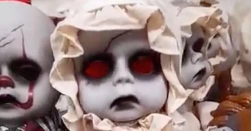Petrified Asda shoppers feel 'physically sick' over terrifying £15 Halloween dolls