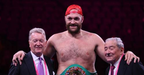 Anthony Joshua again urged to step aside to allow Tyson Fury to fight Oleksandr Usyk