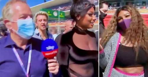 Martin Brundle demands 'respect on our patch' from F1 guests after celebrity snubs