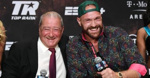 "Anthony Joshua slams Tyson Fury's promoter's Oleksandr Usyk offer as ""talking s***"""