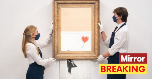 Shredded Banksy artwork 'Love is in the Bin' sells for £16m – that's £18.6m with fees