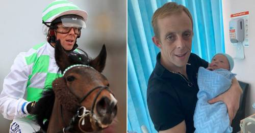 Jockey rides winner before epic hospital dash for son's birth with minutes to spare