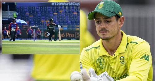 England stars take the knee before T20 World Cup clash after Quinton de Kock's refusal