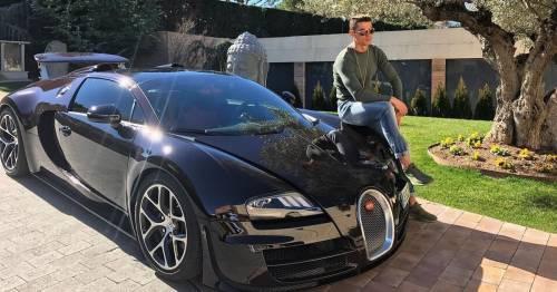 Cristiano Ronaldo spends £8.5m to add limited edition Bugatti to supercar collection
