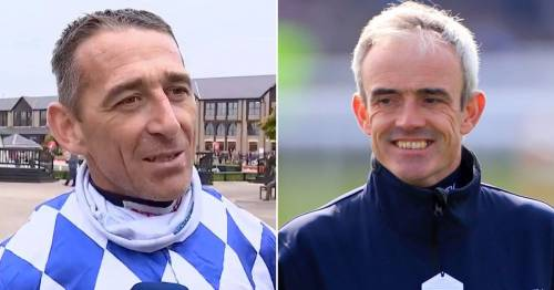 Davy Russell shares a joke with his old rival Ruby Walsh ahead of trip to New York