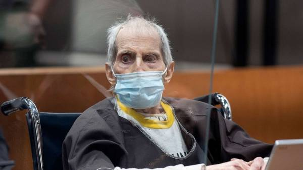 Robert Durst charged with murder of former wife