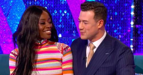 Strictly's Janette Manrara grills AJ Odudu and pro Kai on their 'deeper connection'
