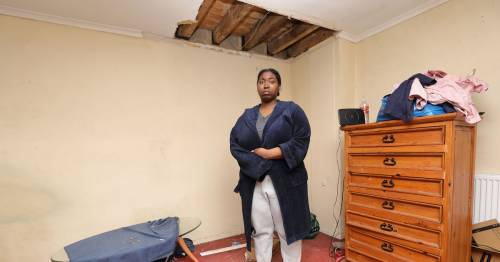 Family's ceiling crashes down despite claiming they warned council 'many times'