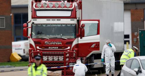 Hunting the Essex Lorry Killers – one fingerprint exposed killing of 39 migrants