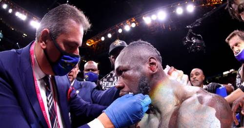 Deontay Wilder 'snubbed' Tyson Fury's promoter after brutal KO defeat
