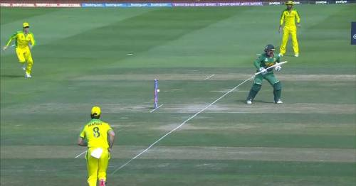 South Africa star Quinton De Kock suffers freak dismissal in T20 World Cup opener