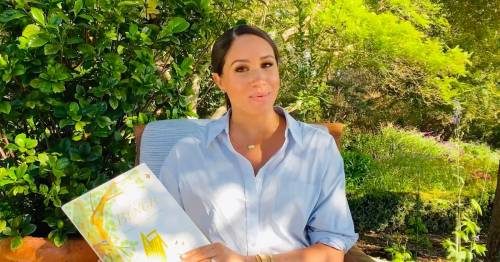 Meghan Markle wears Princess Diana's £17,800 watch while promoting her children's book