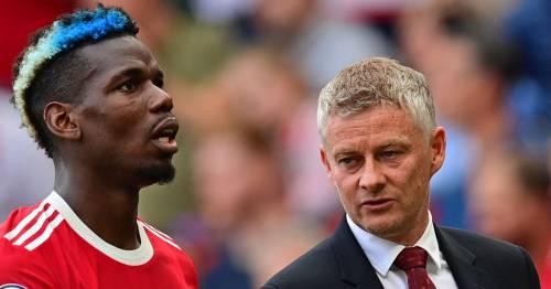 Paul Pogba's fury at Ole Gunnar Solskjaer laid bare after Man Utd snub