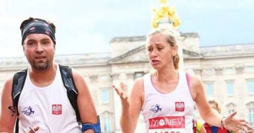 Couple caught 'cheating' in London Marathon 'truly sorry' after running with same number