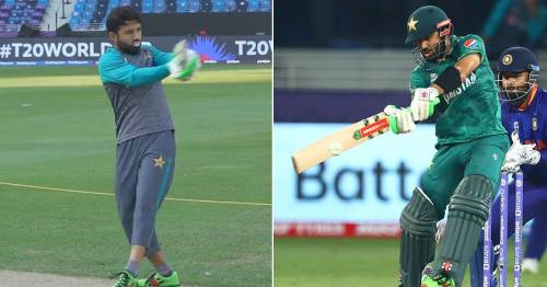 Mohammad Rizwan footage shows match-winning India knock started before a ball was bowled