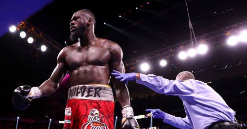 """Deontay Wilder accused of beating """"hand-picked guys"""" before losing to Tyson Fury"""
