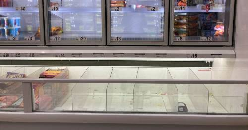 Asda supermarkets sell out of frozen turkeys as Brits stockpile for Christmas