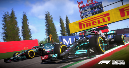 F1 2021 adds Imola as a playable circuit and introduces big gameplay changes in update